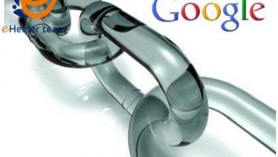 تحديثات جوجل للباكلينك