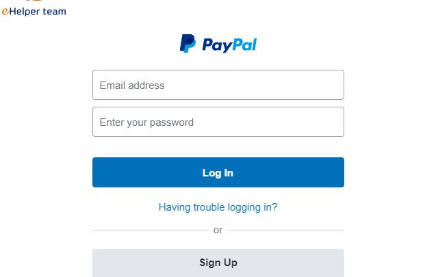خطوات إنشاء حساب على PayPal