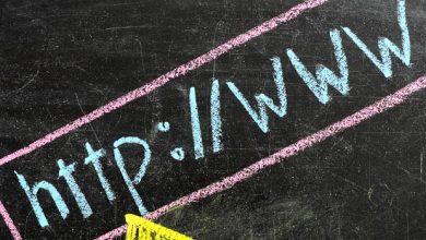 الكتابة على الويب