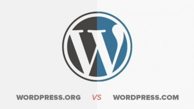 WordPress org و WordPress com