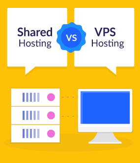 الاستضافة المشتركة أو استضافة VPS