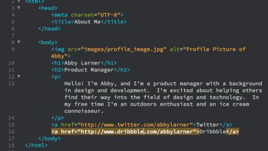لغة HTML الوسوم الأساسية