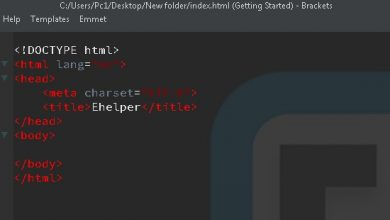 لغة html