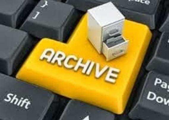 طريقة أرشفة المقالات