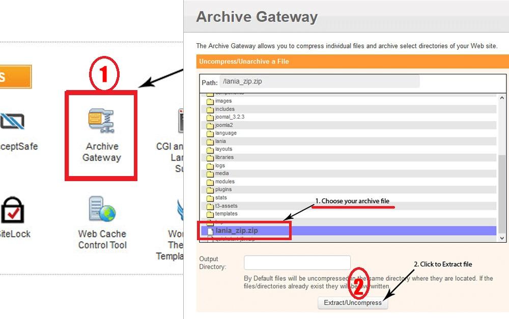 Archieve Gateway