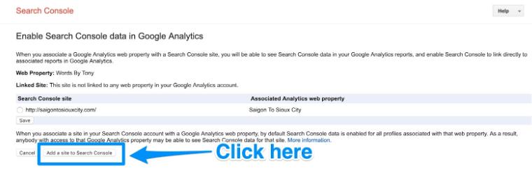 إنشاء Google Analytics