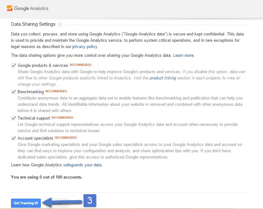 جوجل أنالتكس 3