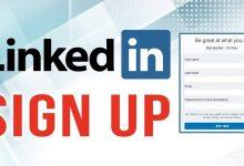 صورة انشاء حساب لينكد ان LinkedIn في 8 خطوات