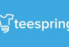 التسجيل في Teespring
