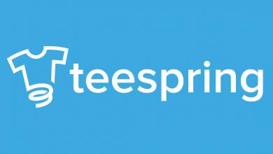 صورة التسجيل في Teespring للحصول على أفضل ربح من تصميم التيشرتات