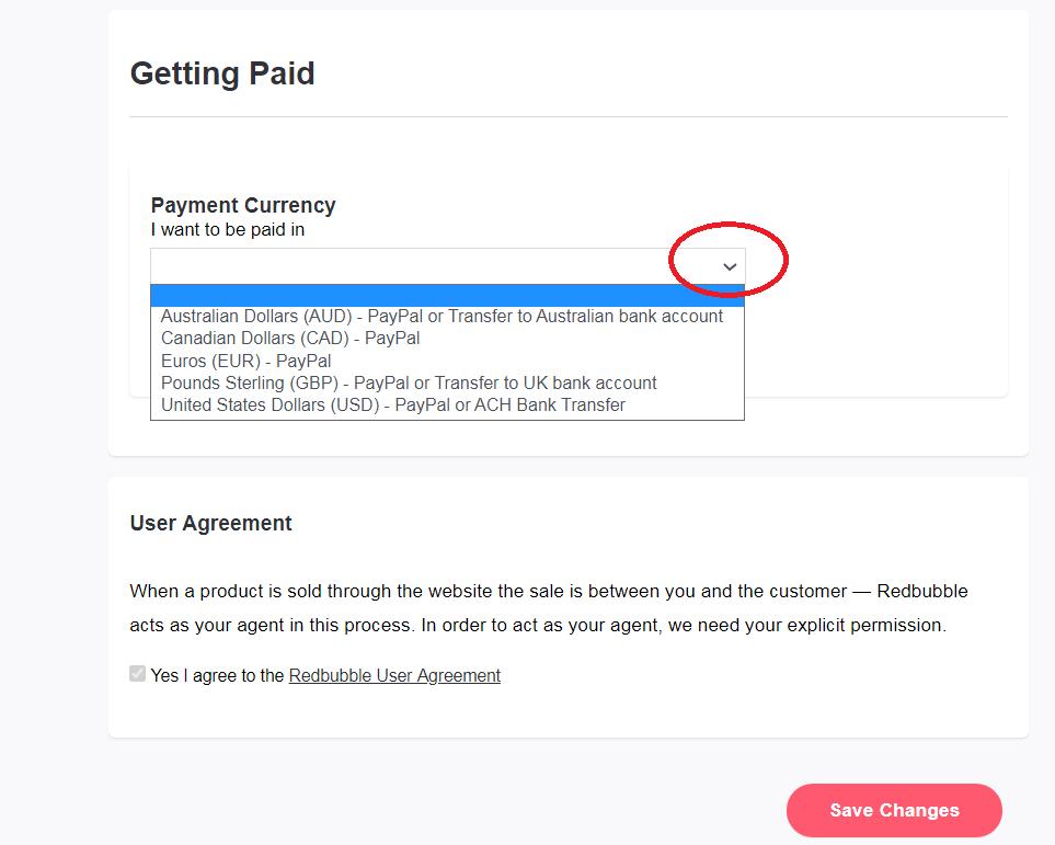 إعدادات الدفع