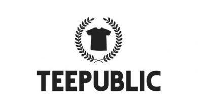 صورة موقع Teepublic والربح يومياً من تصميم التيشرتات
