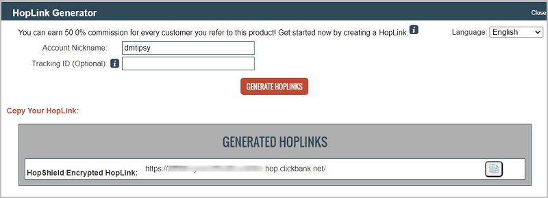 رابط الافليت Hoplink