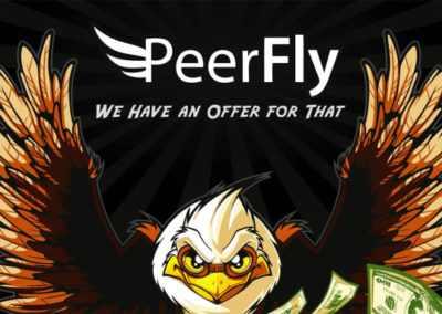 الربح من موقع Peerfly
