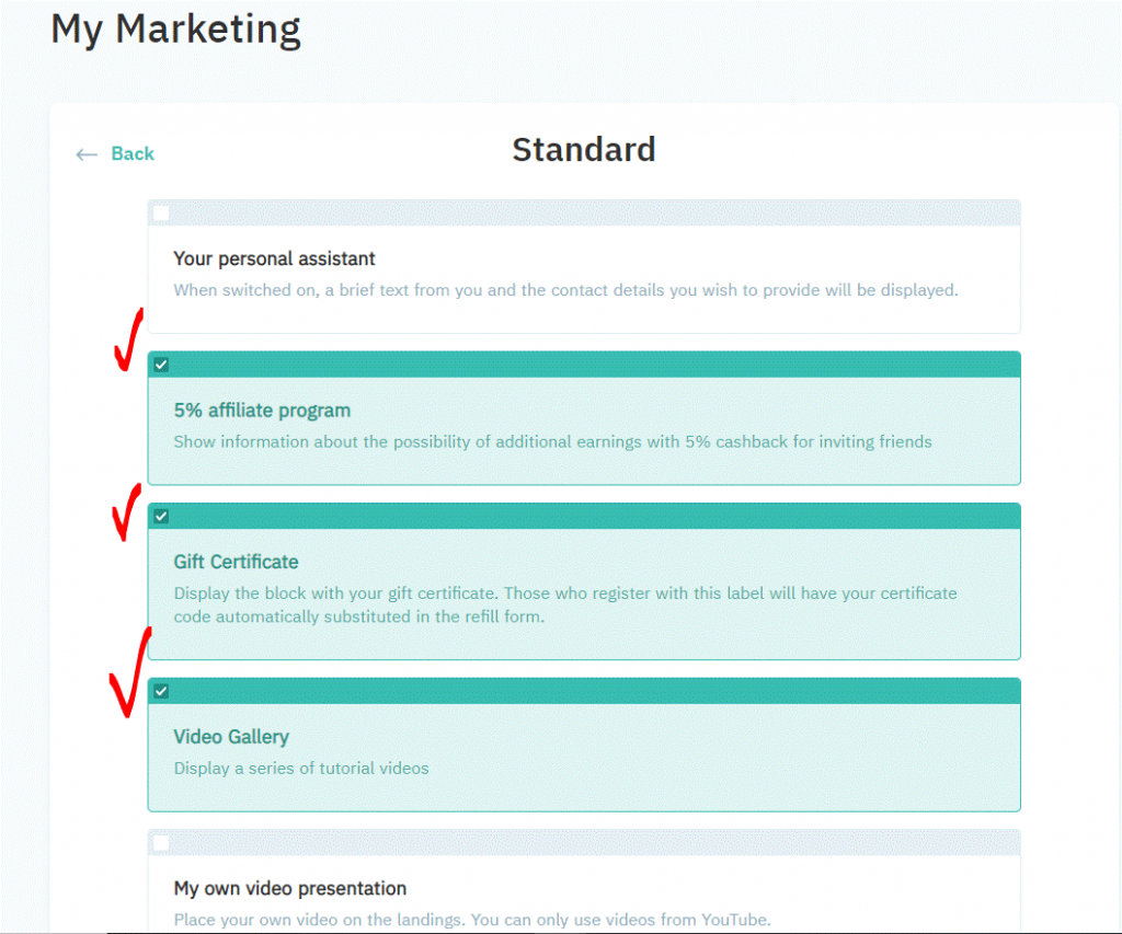 ما هو موقع Ai marketing